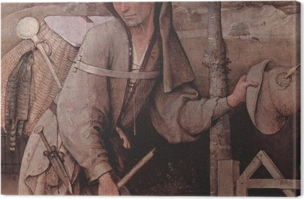 Tableau sur toile Jérôme Bosch - Le Vagabond - Reproductions