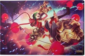 Tableau sur toile Jinx - League of Legends