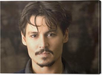 Tableau sur toile Johnny Depp