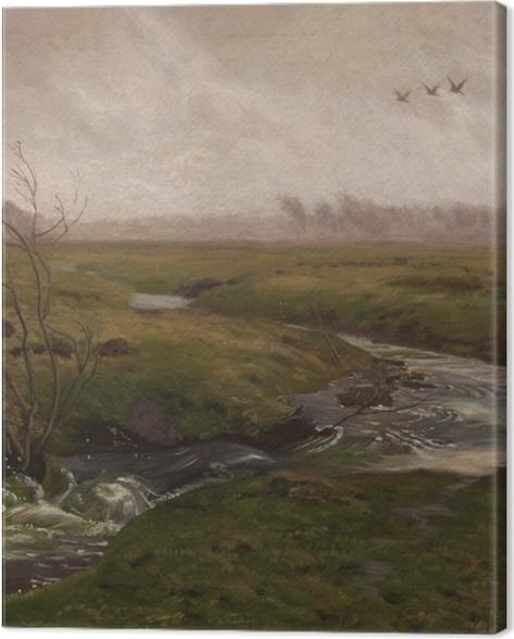 Tableau sur toile Józef Chełmoński - Printemps - Reproductions