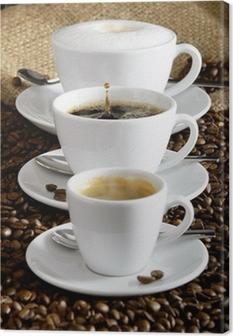 Tableau sur toile Kaffee