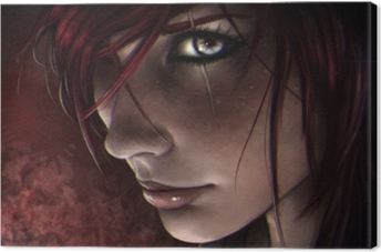Tableau sur toile Katarina - League of Legends