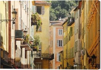 Tableau sur toile L'architecture de la vieille ville de Nice Côte d'Azur sur