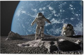 Tableau sur toile L'astronaute