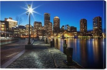 Tableau sur toile La ville de Boston FP543