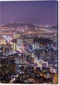 Tableau sur toile La ville de Séoul
