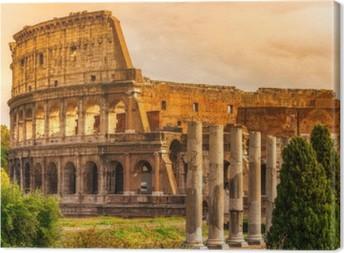 Tableau sur toile Le Colisée Majestic, Rome, Italie.