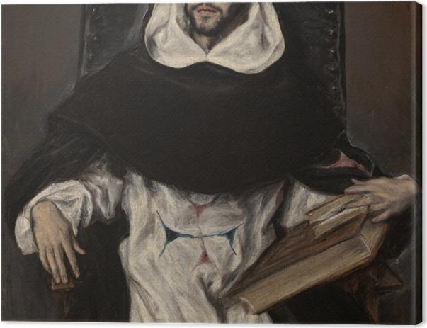 Tableau sur toile Le Greco - Fray Hortensio Félix Paravicino y Arteaga - Reproductions