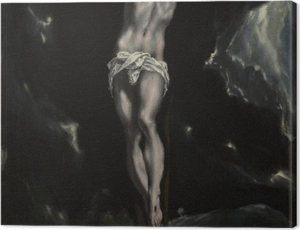 Tableau sur toile Le Greco - la Crucifixion - Reproductions
