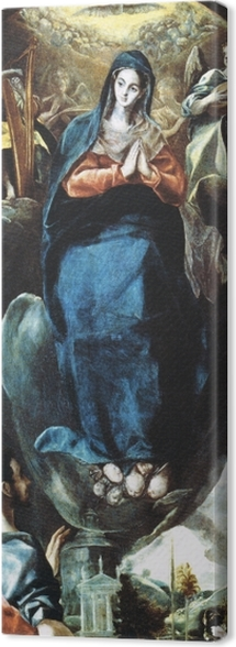 Tableau sur toile Le Greco - Maria Immaculata - Reproductions