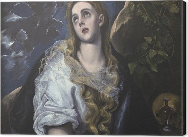Tableau sur toile Le Greco - Marie Madeleine pénitente - Reproductions