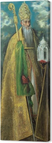 Tableau sur toile Le Greco - Saint Augustine - Reproductions