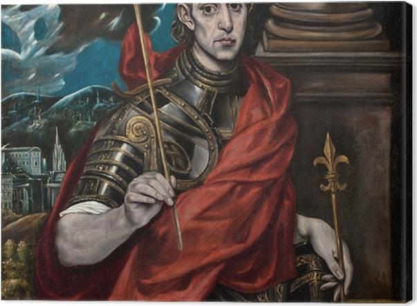 Tableau sur toile Le Greco - Saint Louis - Reproductions