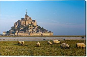 Tableau sur toile Le Mont Saint Michel, France