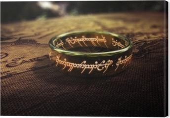 Tableau sur toile Le Seigneur des anneaux