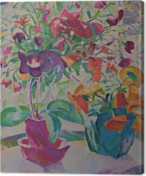 Tableau sur toile Leo Gestel - Bouquet à la fenêtre - Reproductions