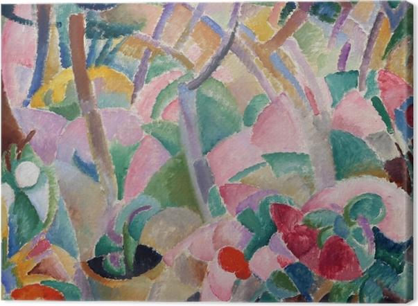 Tableau sur toile Leo Gestel - Giardino, Majorque - Reproductions