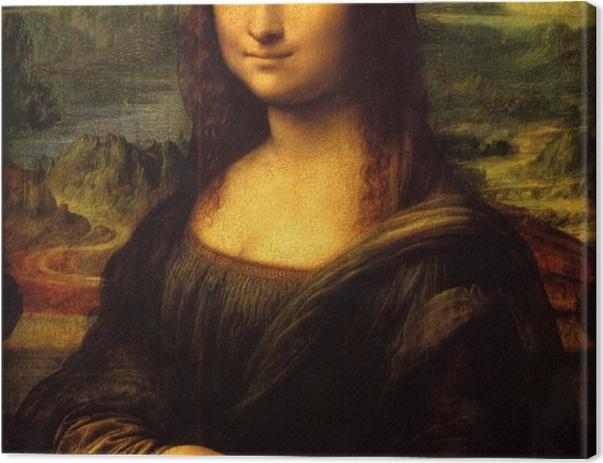 Tableau sur toile Léonard de Vinci - Mona Lisa (La Joconde) - Reproductions