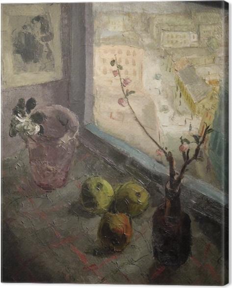 Tableau sur toile Les frères Seidenbeutel - Une vue de la fenêtre - Reproductions