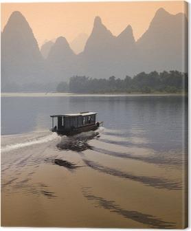 Tableau sur toile Li River - Guilin - Chine