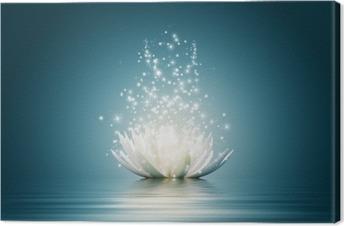 Tableau sur toile Lotus fleur