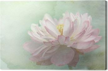 Tableau sur toile Lotus