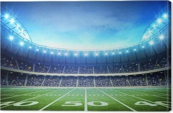 Tableau sur toile Lumière de stade américain