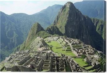 Tableau sur toile Machu Picchu près de Cusco, au Pérou.