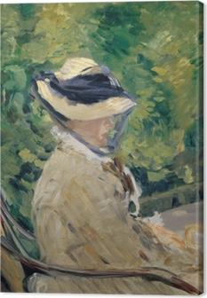 Tableau sur toile Madame Manet
