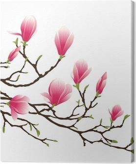 Tableau sur toile Magnolia Blossom