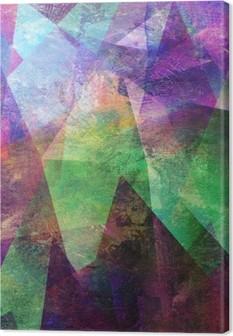 Tableau sur toile Malerei Graphik abstrakt