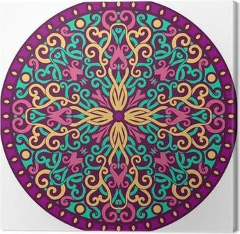 Tableau sur toile Mandala