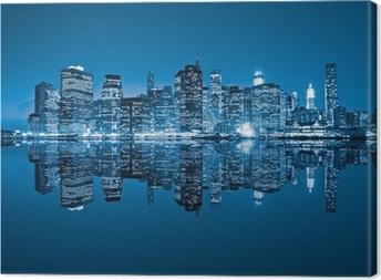 Tableau sur toile Manhattan, New York City, USA