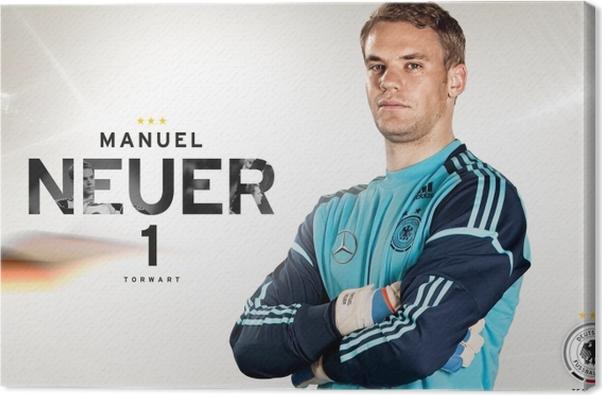 Tableau sur toile Manuel Neuer - Thèmes