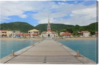 Tableau sur toile Martinique Anse d'Arlet
