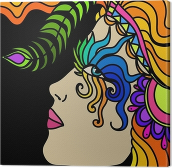 Tableau sur toile Masque de carnaval