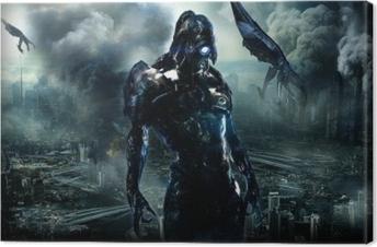Tableau sur toile Mass Effect