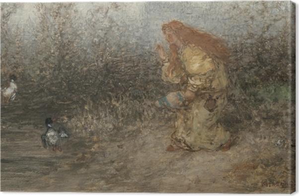 Tableau sur toile Matthijs Maris - Conte de fée - Reproductions