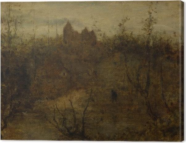 Tableau sur toile Matthijs Maris - Le château enchanté - Reproductions