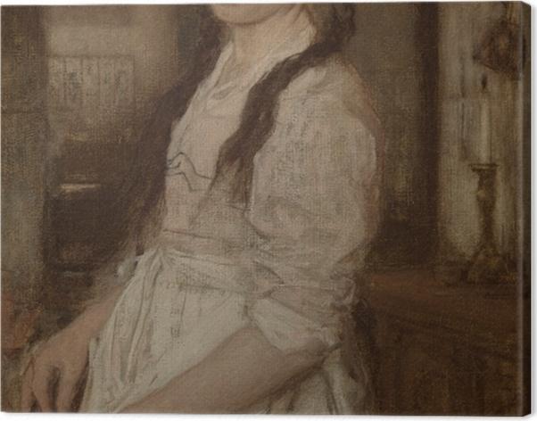 Tableau sur toile Matthijs Maris - Le jeune cuisinier - Reproductions