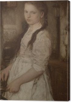 Tableau sur toile Matthijs Maris - Le jeune cuisinier