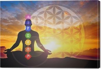 Tableau sur toile Méditation