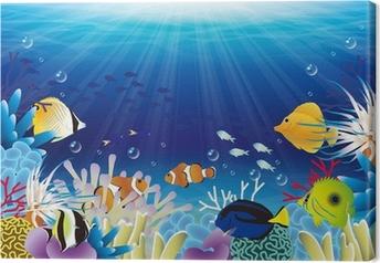 Tableau sur toile Mer