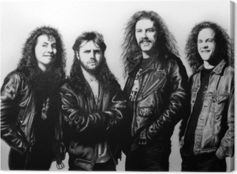 Tableau sur toile Metallica