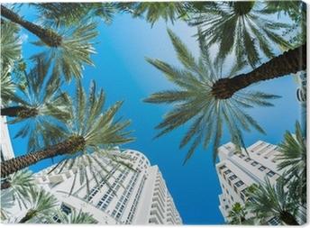 Tableau sur toile Miami beach