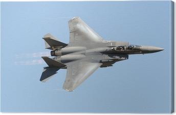 Tableau sur toile Militaire avion de chasse