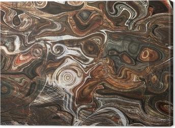 Tableau sur toile Minéral coloré