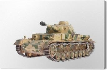 Tableau sur toile Modèle réduit d'un char allemand de la Seconde Guerre mondiale