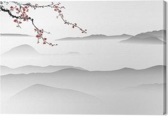 Tableau sur toile Montagne Peinture Peinture chinoise