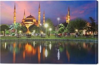 Tableau sur toile Mosquée bleue à Istanbul, Turquie